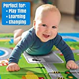 Ozoy Double Sided Water Proof Baby Mat Carpet Baby Crawl Play Mat Kids
