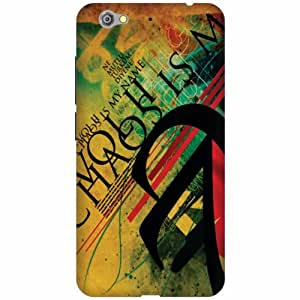 Gionee S6 Hard Plastic Back Cover - Multicolor Designer Cases Cover by Printland