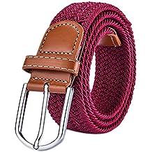 Gespout Cinturón Cinturones Almohadillas para Cinturón Hombres Mujeres  Cinturón de Lienzo Estudiante Hipoalergénico de Aleación Hebilla a2645fb21a1e