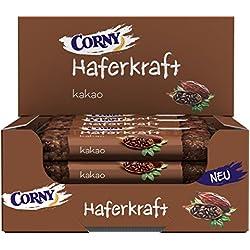 CORNY Haferkraft Kakao, weicher Haferriegel, 12er Pack (12 x 65 g Riegel)