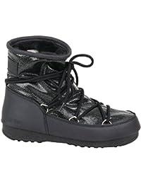 Moon Boot Mujer 24005500002N Negro Poliéster Botines