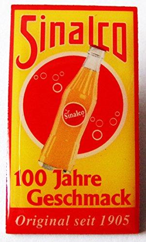 Sinalco-100-Jahre-Geschmack-Pin-aus-Metall