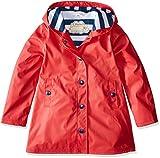 Hatley Splash Jackets, Chubasquero para Niños, Rojo (Red/Navy), 10 años