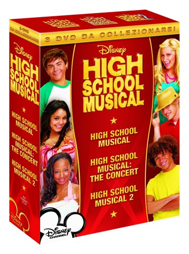 Preisvergleich Produktbild High school musical + High school musical: the concert + High school musical 2 [3 DVDs] [IT Import]