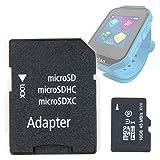 DURAGADGET Tarjeta de Memoria Micro SD HC 16 GB para Reloj de niño CEFATRONIC - Smartwatch Clan (105) |+ Adaptador
