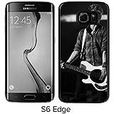 Connor Ball Bassist The Vamps Boys Pop Band British Cute Black Shell Phone Case for Funda Samsung Galaxy S6 Edge,Fashion Case