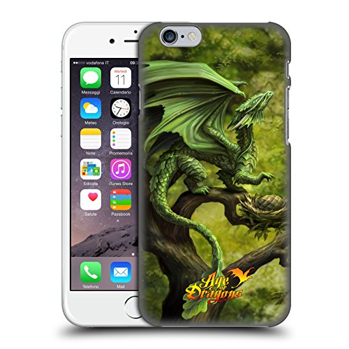 Official Anne Stokes Forest Age of Dragons Hard Back Case for Apple iPhone 6 / 6s