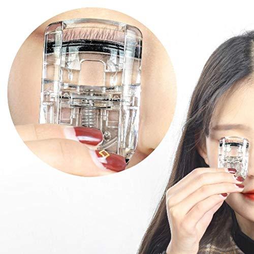 Amiubo Tragbare Mini Wimpernzange Silikon Clip Ersatz Minen Make-up-Tool Make-Up Pinsel & Zubehör