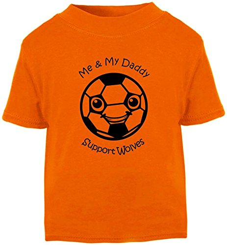 df3be230e Hat-Trick Designs Wolverhampton Wanderers Football Baby Children's T-Shirt  Top-3-