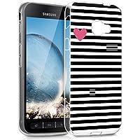 Coque Samsung Galaxy Xcover 4, Eouine Ultra Slim Etui en Silicone 3d  Transparente avec Motif ebc915a3f34c