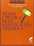 Teoría y técnica de la investigación científica (Letras universitarias)