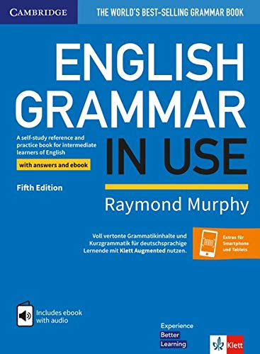 English Grammar in Use: Klett Fifth Edition. Book with answers and interactive ebook