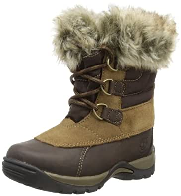 Timberland Blizzard Bliss Waterproof, Girls' Snow Boots, Brown, 5.5 UK