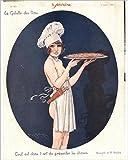 Impresión fotográfica de Le Sourire 19261920s Francia cocina erotica Sexo revistas