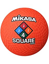 Mikasa P850Four Square Model dodeg pueblos pelota de combustión Ball, Naranja, 3