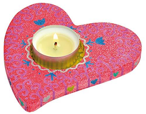 EDUPLAY 800174Herz Teelichthalter (3-teilig)
