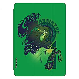 Enthopia Designer Front Smart Cover Absinthe for Ipad Mini 2/3 with Transparent Back Case