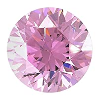 Be You Pink Colour Cubic Zirconia AAA Quality 1.5 mm Diamond Cut Round Shape 1000 pcs loose gemstone