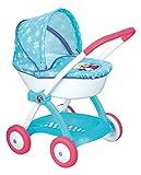 Smoby 254145 - Frozen Puppenwagen mit Verdeck