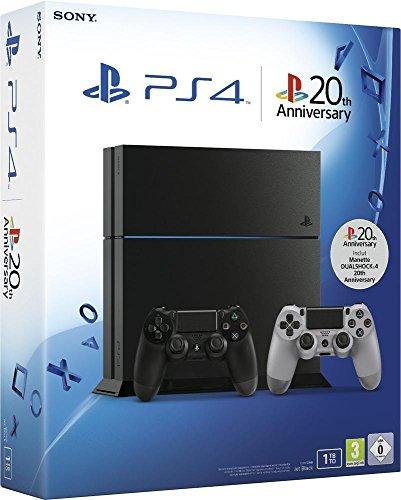 Console PS4 1 To + 2ème manette PS4 Dual Shock 4 20ème anniversaire