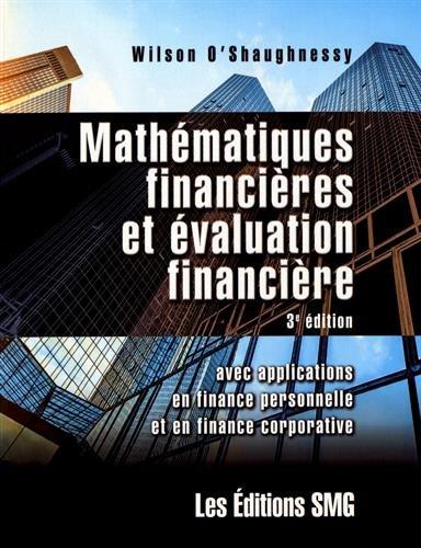 Mathmatiques financires et valuation financire