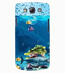 ColourCraft Fishes Design Back Case Cover for SAMSUNG GALAXY S3 NEO I9300I