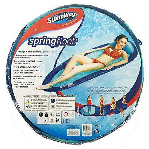 Swimways 6045237 Original Spring Pool Float In 3 (Blue & Aqua)
