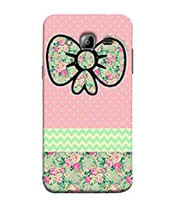 Samsung Galaxy J3 (6) 2016, Samsung Galaxy J3 2016 Duos, Samsung Galaxy J3 2016 J320F J320A J320P J3109 J320M J320Y Back Cover Multicolour Knot Yellow Dot With Pink Background Design From FUSON
