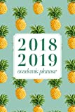 "2018 2019 Academic Planner: Daily Monthly & Weekly Academic Student Planner | 2018-2019: Pineapples, August 2018 - July 2019, 6"" x 9"""