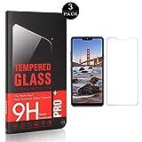 Bear Village® LG G7 Displayschutzfolie, Blasenfrei, Anti-Fingerabdruck, HD Ultra klar Schutzfolie aus Gehärtetem Glas für LG G7, 3 Stück