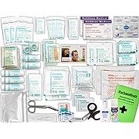 Komplett-Set Erste-Hilfe DIN 13169 EN 13 169 PLUS 4 für Betriebe inkl. Sprühpflaster, Hygiene-Ausstattung & Notfallbeatmungshilfe preisvergleich bei billige-tabletten.eu