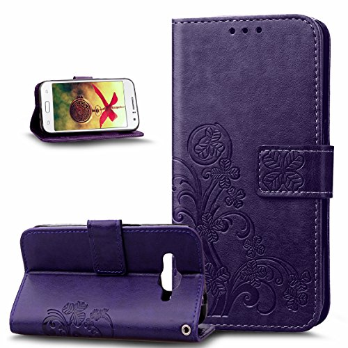 galaxy-j1-ace-casegalaxy-j1-ace-coverikasus-embossing-clover-flower-floral-pattern-premium-pu-leathe