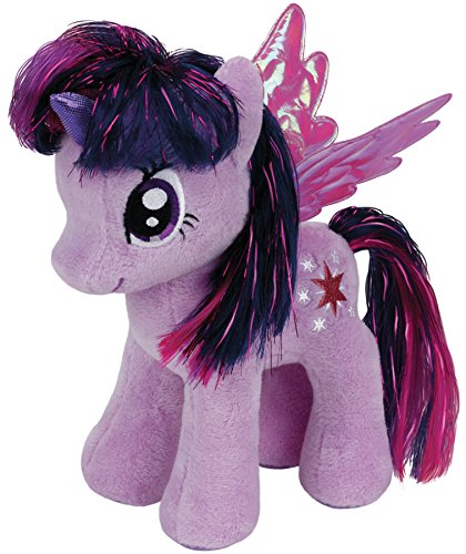 Peluche twilight sparkle 18cm da my little pony mio mini pony ufficiale ty