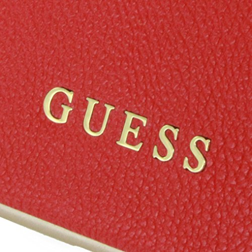 Guess Collection Coque rigide pour Apple iPhone Iridescent 7 Scarlet rot