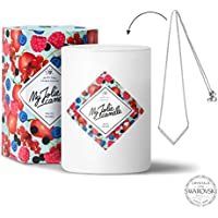 My Jolie candle - Bougie-Bijou Fruits rouges - Collier