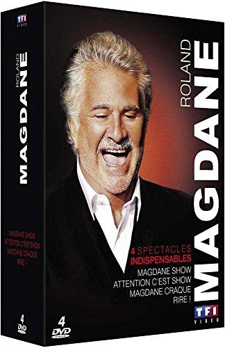 Roland Magdane - Coffret: Magdane Show + Attention c'est Show + Magdane craque ! + Rire !