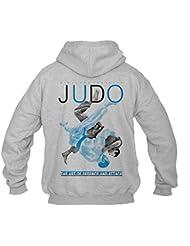 Dirty Ray Arts Martiaux Judo Sweat homme avec capuche B20