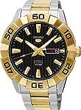 Seiko Herren Analog Automatik Uhr mit Edelstahl beschichtet Armband SRPA56K1