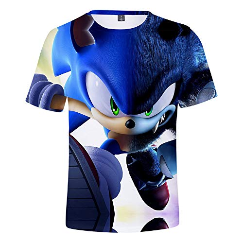 Geschwindigkeit des Helden Sonic-Hedgehog Movie 2019 Mens Custom T-Shirts (T-shirts Billige Benutzerdefinierte)