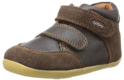 Bobux 460633 Unisex-Kinder Hohe Sneakers Braun (Braun)