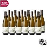 Mâcon Solutré Blanc 2018 - Domaine Carrette - Vin AOC Blanc de Bourgogne - Cépage Chardonnay - Lot de 12x75cl