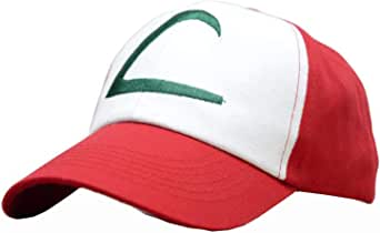 Nintendo Pokemon Ash Ketchum Cap Embroidered Hat One Size-Style A