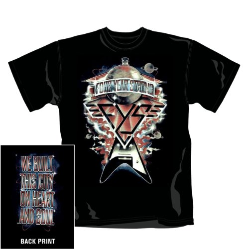 FOUR YEAR STRONG - BUILT THIS CITY T-Shirt Nero