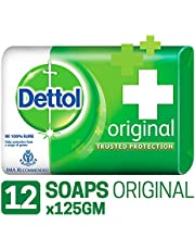 Dettol Original Soap - 125 g (Pack of 12)