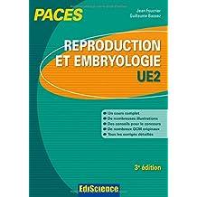 Reproduction et Embryologie-UE2 PACES - 3e éd.: Manuel, cours + QCM corrigés