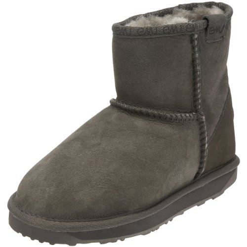 Emu Stinger Mini, Damen Bootsschuhe, Grau (Charcoal), 40/41 EU (7 Damen UK)