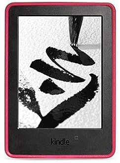 NuPro - Custodia protettiva con grip per Kindle (7ª generazione - modello 2014), Rosa