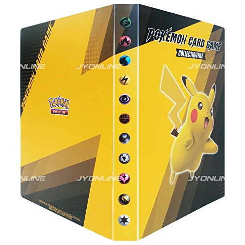 Pokémon Cartes XY BREAK Pikachu Binder Card Album Corée TCG + 2 Special edition Booster Packs + 3pcs Premium Card Sleeve