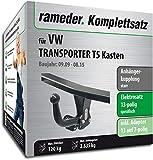 Rameder Komplettsatz, Anhängerkupplung starr + 13pol Elektrik für VW Transporter T5 Kasten (114000-05004-7)