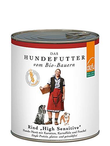 defu-Bio-Hundefutter-Nassfutter-getreidefrei-mit-feinem-Rind-Hundefutter-mit-hohem-Fleischanteil-von-87-Prozent